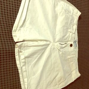 Old Navy White Summer Shorts